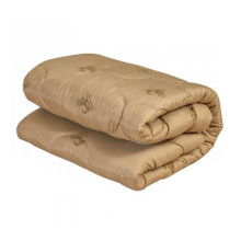 Одеяло овечья шерсть стандарт - тик арт.МО-18