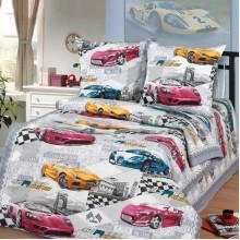 Комплект постельного белья детский Форсаж