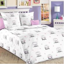 Комплект постельного белья детский Китти