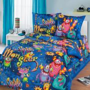 Комплект постельного белья детский Монстры