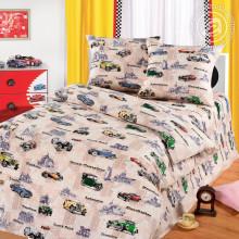 Комплект постельного белья детский Автокруиз