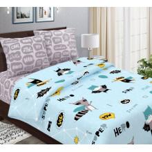 Комплект постельного белья детский Супергерои