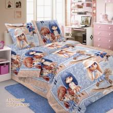 Комплект постельного белья детский Лучшая подружка