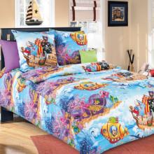 Комплект постельного белья детский Пираты