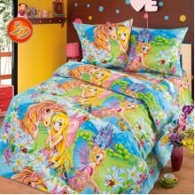 Комплект постельного белья детский Страна Чудес