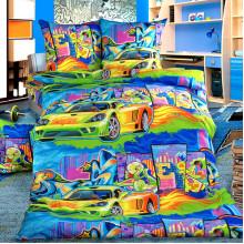 Комплект постельного белья детский Граффити