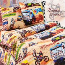 Комплект постельного белья детский Париж-Дакар