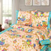 Комплект постельного белья детский Добрые Совушки