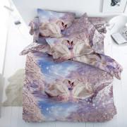 Комплект постельного белья Лебединая верность