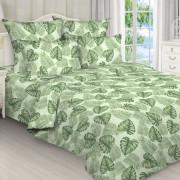 Комплект постельного белья Папоротник зелёный