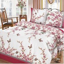Комплект постельного белья Сакура Белая