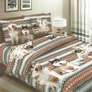 Комплект постельного белья Хаски