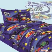 Комплект постельного белья Формула-1