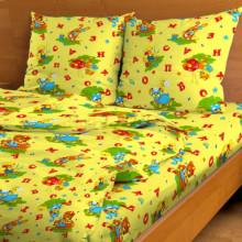 Постельное белье в детскую кроватку Весёлые буквы