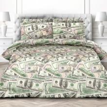 Комплект постельного белья Доллары