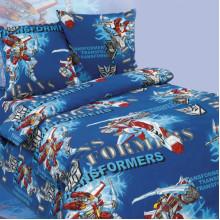 Комплект постельного белья детский Трансформеры