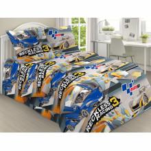 Комплект постельного белья детский Безумные гонки