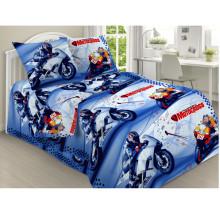 Комплект постельного белья детский Мотокросс