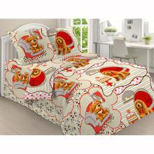 Комплект постельного белья детский Тобик и Бобик