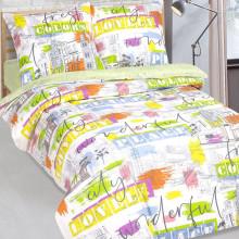 Комплект постельного белья детский Краски города