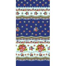 Полотенце кухонное Кружево синий