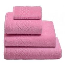 Полотенце Плейт розовый