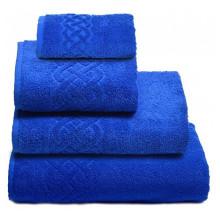 Полотенце Плейт синий