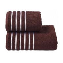 Полотенце махровое Донецкая мануфактура тёмно-коричневое